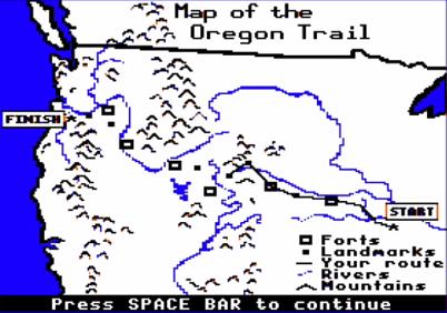 Educator Innovator  Deconstructing Learning Games The Oregon Trail